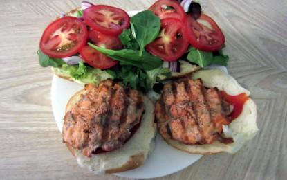 Best Salmon Burgers