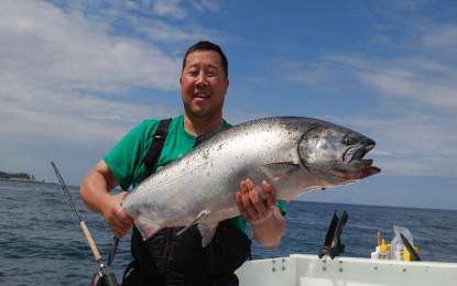 Trolling Tips for Chinook Salmon Downrigger Fishing